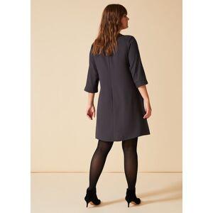 Studio 8 Bette Swing Dress, Grey, Swing  - Charcoal - Size: 20