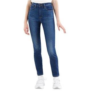 Levi's Good Evening 721 High Rise Skinny Women's Jeans  - Blue - Size: 24W 28L