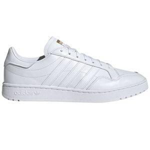 adidas White Team Court Trainers  - White - Size: 11