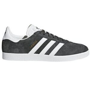 adidas Solid Grey Gazelle Trainers  - Grey - Size: 9