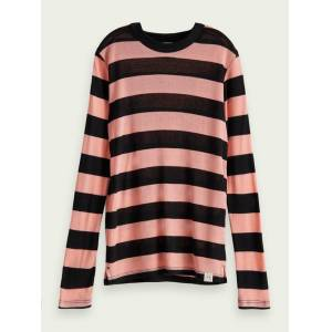 Scotch & Soda TENCEL™ long sleeve t-shirt  - Pink - Size: 4