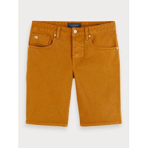 Scotch & Soda Ralston Short - Tobacco Slim fit  - Brown - Size: 29