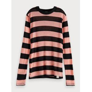 Scotch & Soda TENCEL™ long sleeve t-shirt  - Pink - Size: 6
