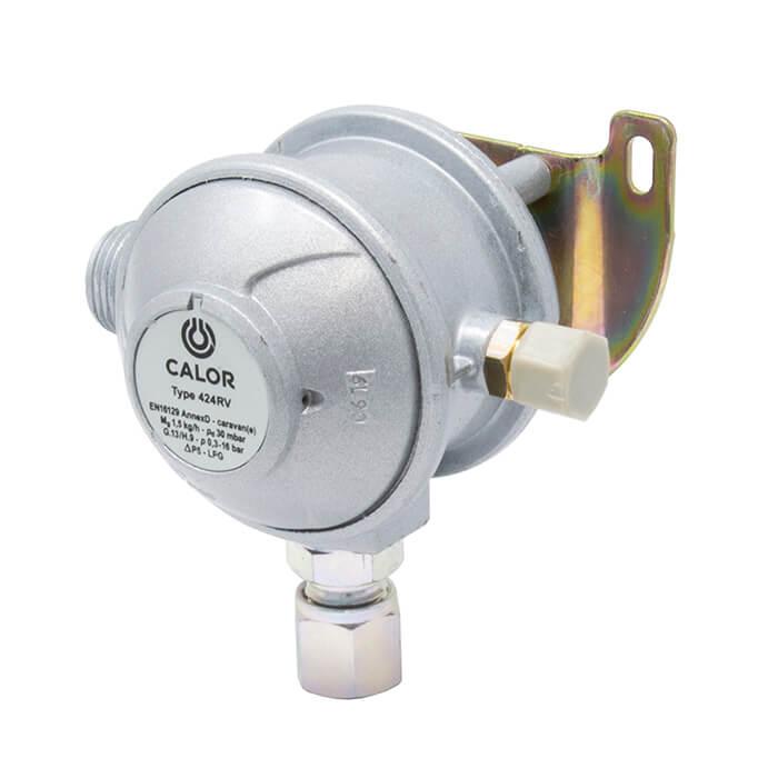 Calor 10mm Angled 30mbar Caravan Gas Regulator