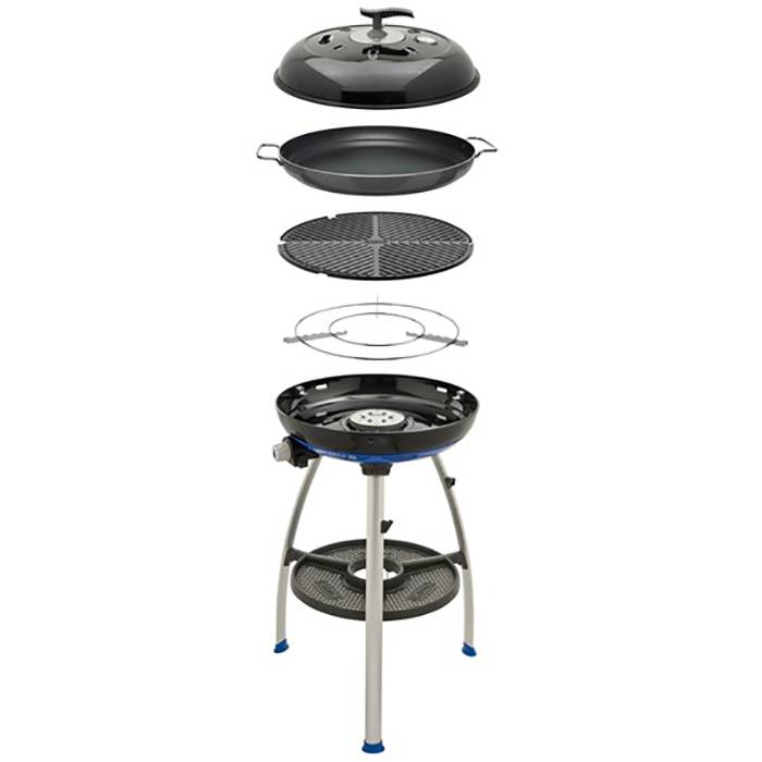 Cadac Carri Chef 2 Gas BBQ/Paella Pan Combo