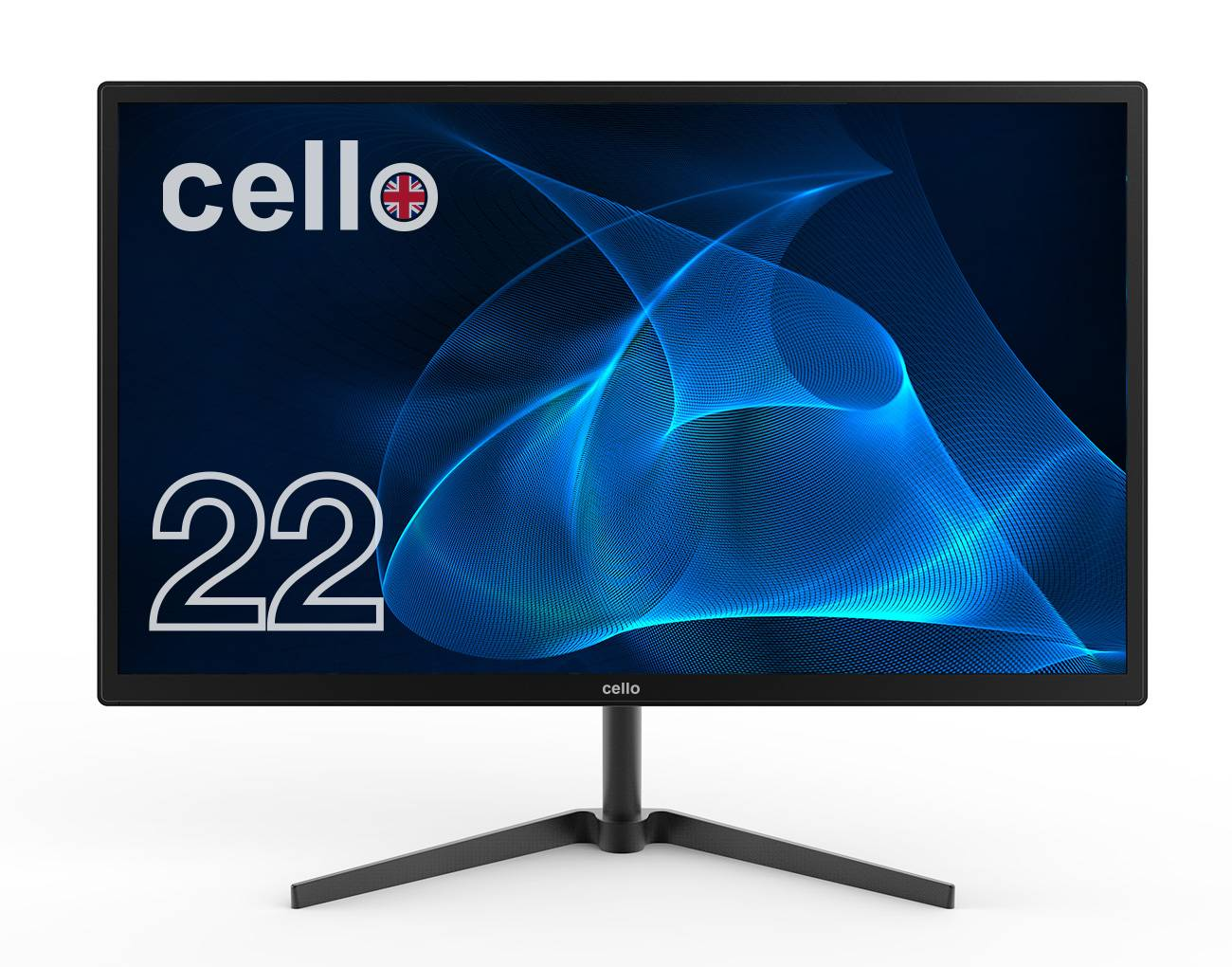 "Cello 22"" Full HD LED Computer Monitor with Speakers"