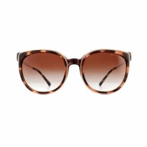 Michael Kors Sunglasses Bal Harbour 2089U 333713 Pink Tortoise Brown Gradient