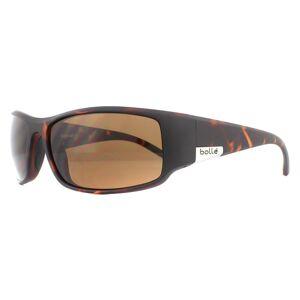 Bolle Sunglasses King 12118 Matte Tortoise TLB Dark Brown