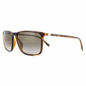 Hugo Boss Sunglasses BOSS 0665/N/S 2IK HA Havana Gold Brown Gradient