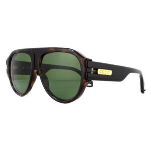 Gucci Sunglasses GG0665S 004 Dark Havana Green
