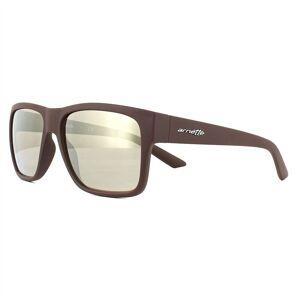 Arnette Sunglasses Reserve 4226 23805A Matt Brown Brown Mirror Gold