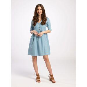 Pentlebay Womens Knee Length Dress (Denim, Size 10)