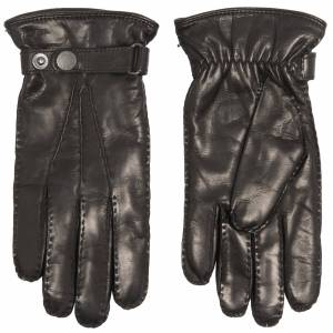 Hestra Jake Hairsheep Leather Gloves 23530-100 Colour: Black, Size: UK - Black - male - Size: UK 10