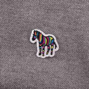 Paul Smith PS by Paul Smith Zebra Logo Polo ShirtGrey Melange-183K-AZE - GREY MELANGE - male - Size: M