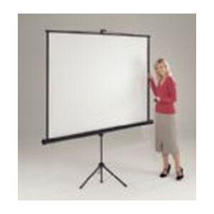 Metroplan Eyeline Presenter Tripod Screen - 1250 x 1250mm (WxH)