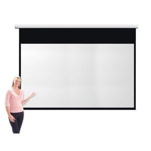 Metroplan Eyeline Pro Channel Fix Electric Screen - 1494 x 2656mm (HxW) - Widescreen 16:9