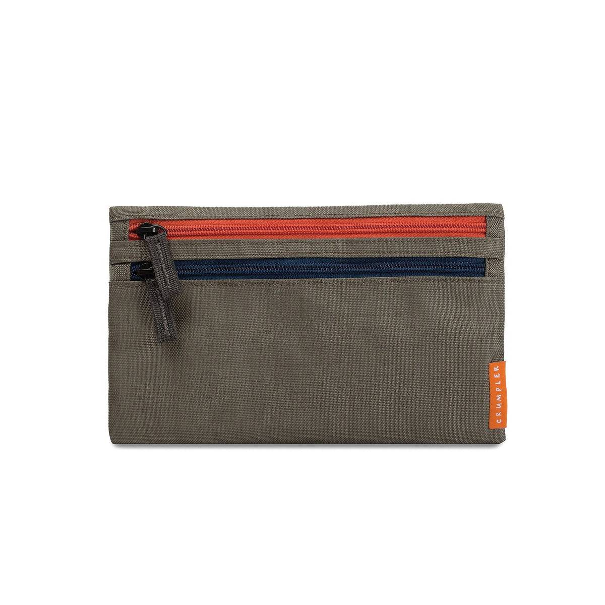 Crumpler Zippie Travel Pouch Travel organizer golden weed / tangerine