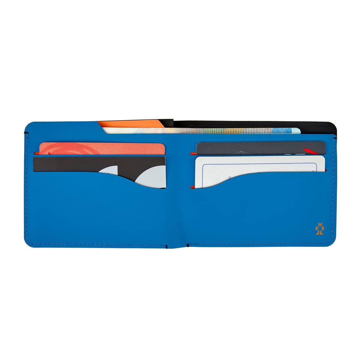 Crumpler Wallet black / niagra