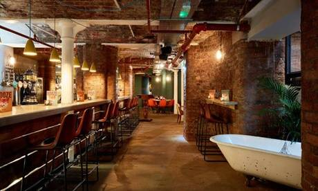 Yard & Coop Liverpool £30 Toward American Food and Drinks for Two at Yard & Coop (33% Off)