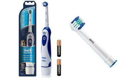 Groupon Goods Global GmbH Braun Oral B Toothbrush with 41 Replacement Heads
