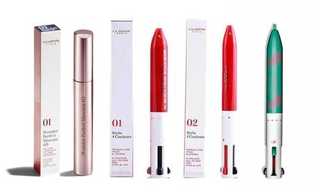 Groupon Goods Global GmbH Clarins 4D Mascara or Four in One Eyeliner/Lip Liner