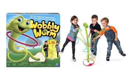 Groupon Goods Global GmbH Spin Master Wobbly Worm Game