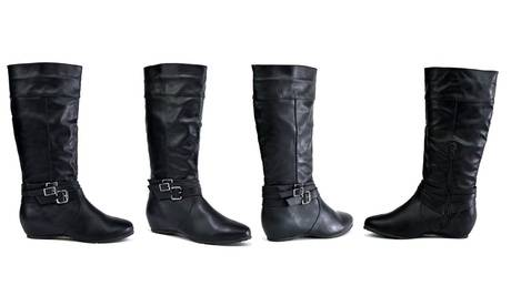 Groupon Goods Global GmbH Women's Knee-High Boots with Zip