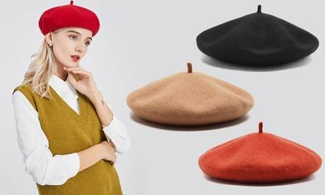 Groupon Goods Global GmbH Miss Lulu Beret Cap Hat