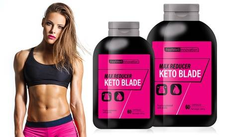 Groupon Goods Global GmbH Up to 720 Caps of Max Reducer Keto Blade