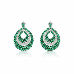 Annoushka Sutra Emerald Earrings