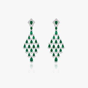 Annoushka Sutra Emerald Earrings