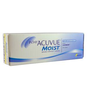 Acuvue 1 Day Acuvue Moist for Astigmatism (30 Contact Lenses), Johnson & Johnson, Daily Toric Lenses, Etafilcon A