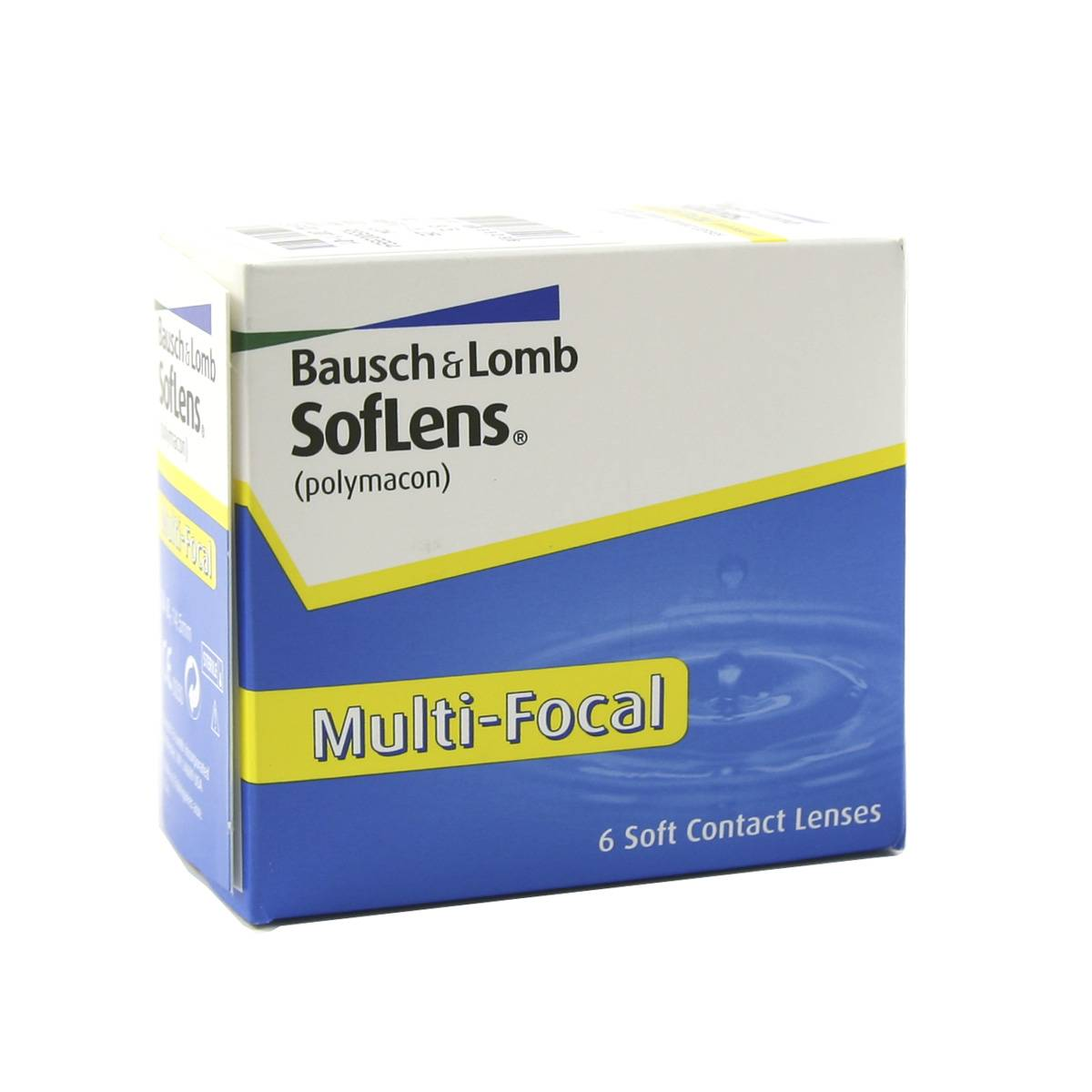 Bausch & Lomb Soflens Multi Focal (6 Contact Lenses), Bausch & Lomb, Multi-Focal Monthly Lenses, Polymacon