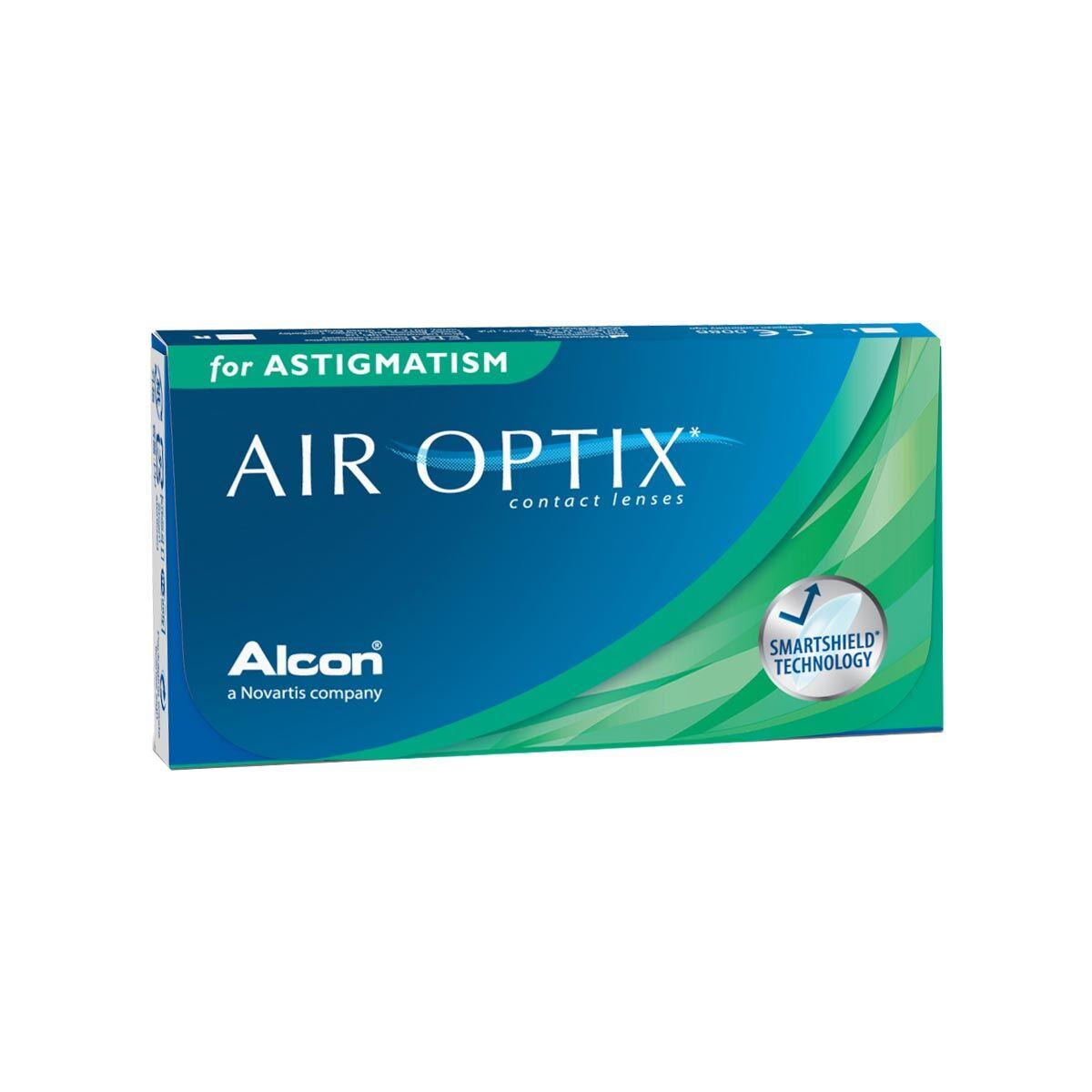 Alcon Air Optix for Astigmatism (3 Contact Lenses), Ciba Vision/Alcon, Silicone Hydrogel Toric for Astigmatism, Lotrafilcon B