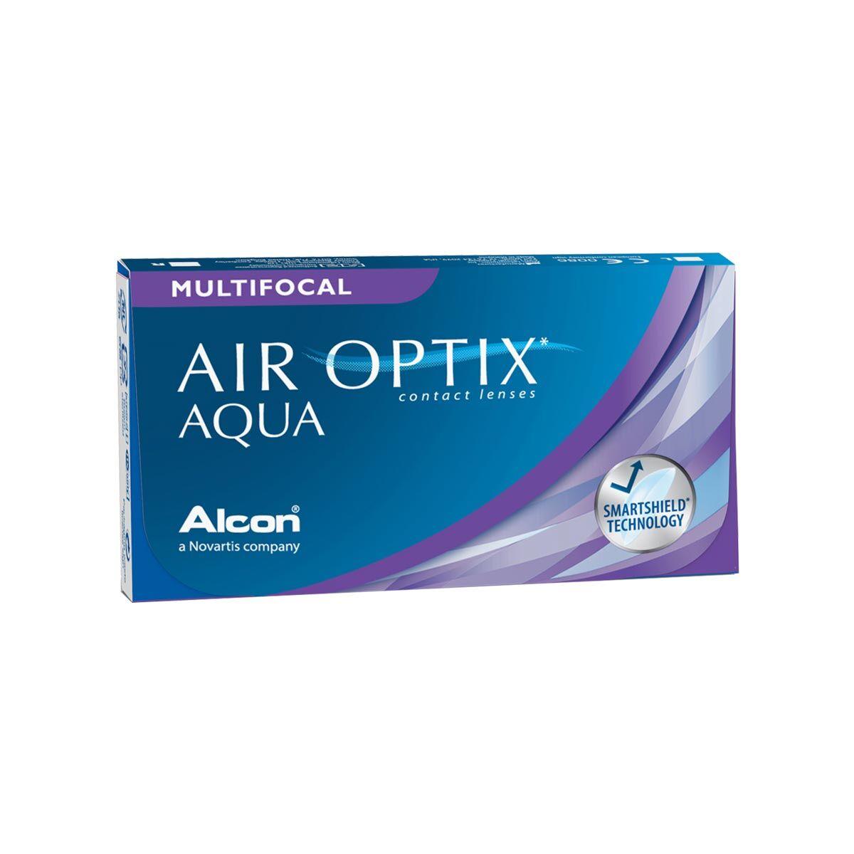 Alcon Air Optix Aqua Multifocal (3 Contact Lenses), Ciba Vision/Alcon, Multifocal Monthly Disposables, Lotrafilcon B