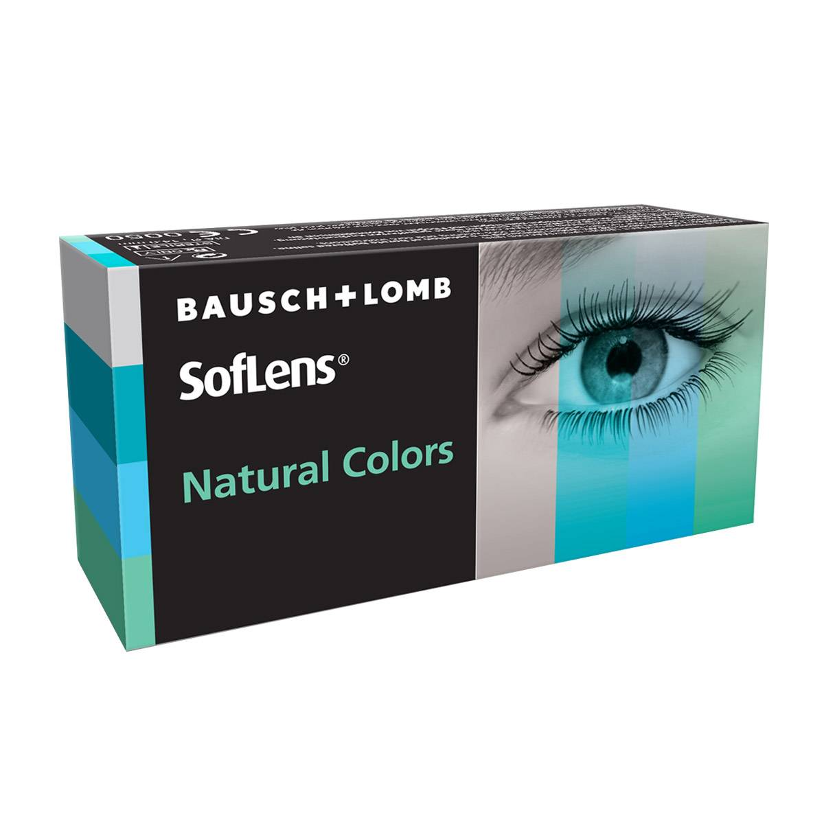 Bausch & Lomb Soflens Natural Colors (2 Contact Lenses), Bausch & Lomb, Monthly Coloured Lenses, Polymacon B