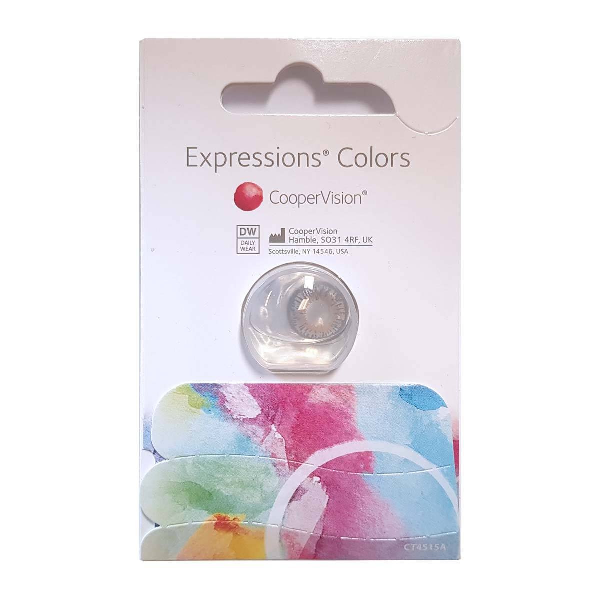 CooperVision Expressions Colour (1 contact lens), CooperVision, Monthly Coloured Lens, Methafilcon A