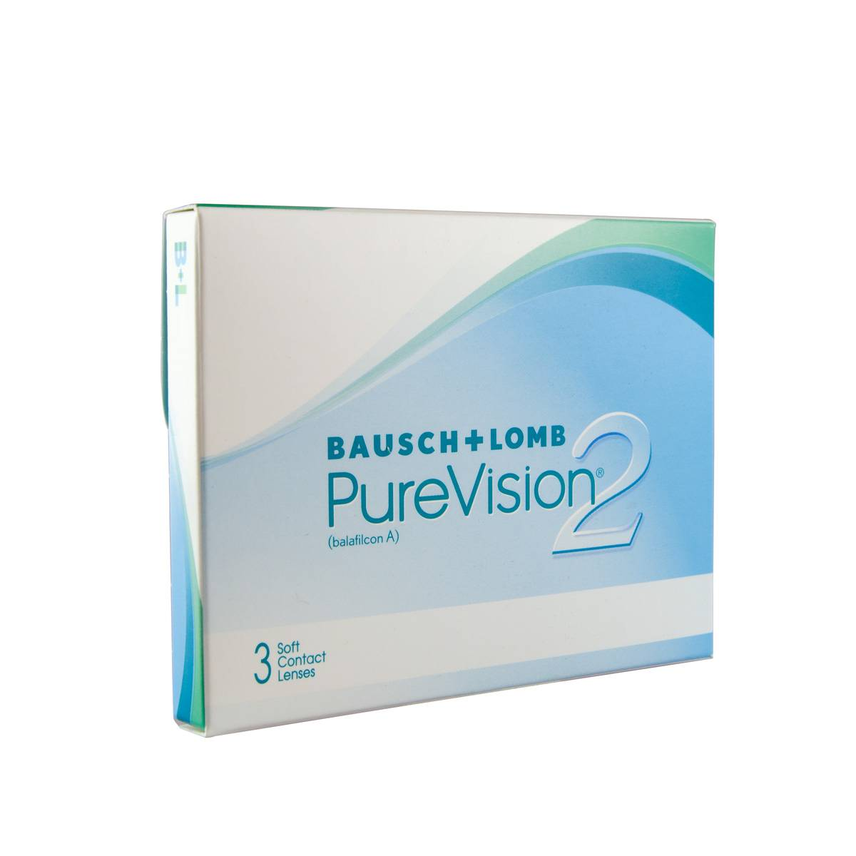 Bausch & Lomb Purevision 2 HD (3 Contact Lenses), CooperVision, Silicone Hydrogel Monthly Lenses, Balafilcon A