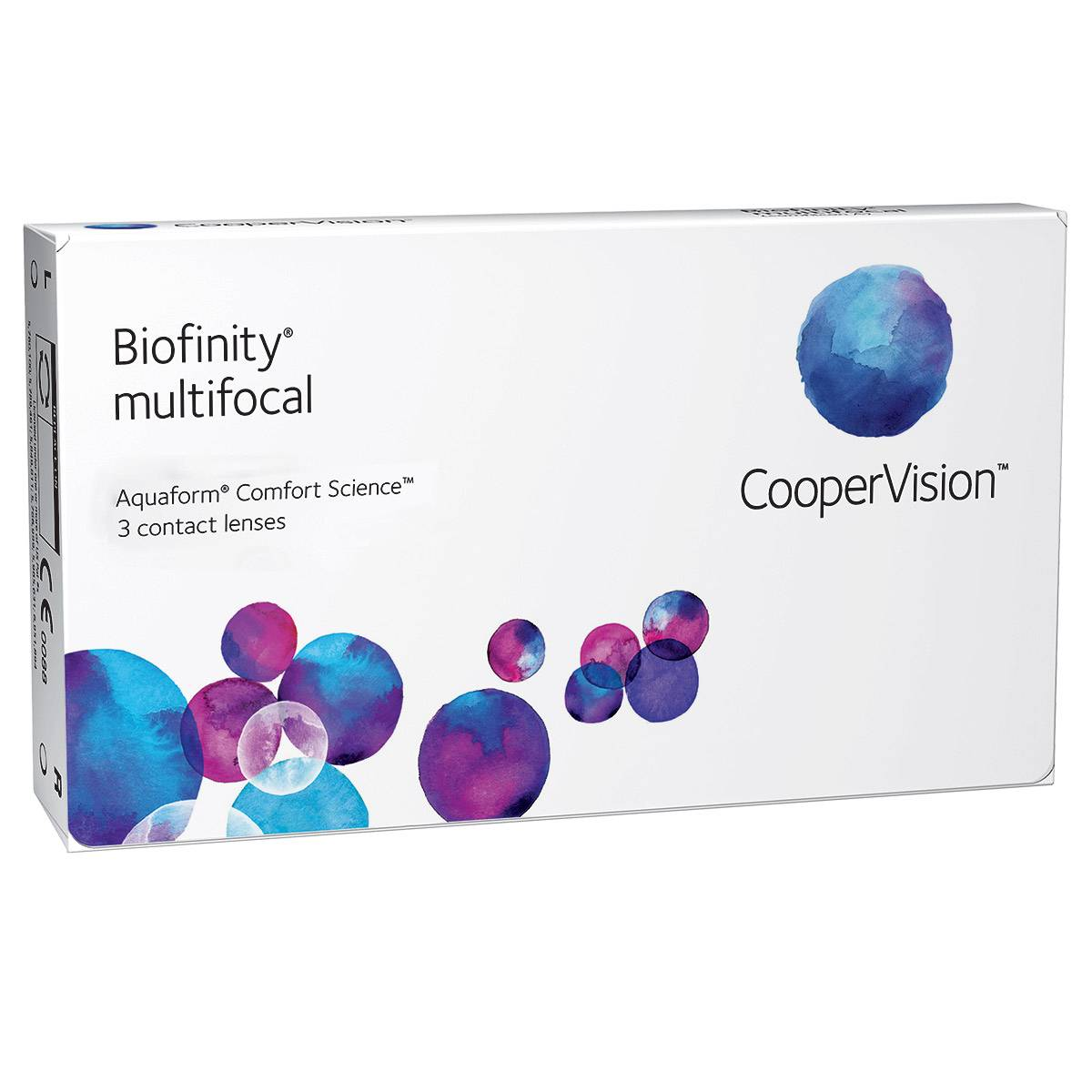 Bausch & Lomb Biofinity Multifocal (3 Contact Lenses), CooperVision Multifocal Monthly Lenses, Comfilcon A