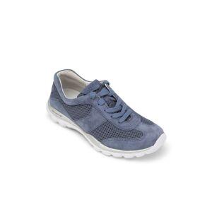 Gabor Ladies Gabor Rolling Soft Trainer - Soft Blue  - Blue - Size: 7