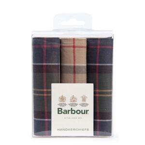 Barbour Tartan Handkerchiefs  - Green - Size: One