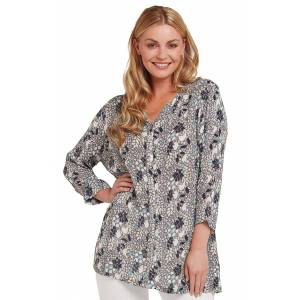 Adini Ladies Adini Trudy Blouse  - Brown - Size: Small