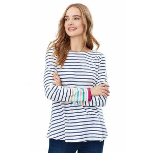 Joules Ladies Joules Harbour Light Swing V Top  - Multi - Size: 10