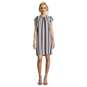 Betty Barclay Ladies Betty Barclay Vertical Stripe Dress  - Pink - Size: 42
