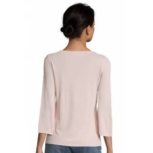 Betty Barclay Ladies Betty Barclay Bow Knit Crew  - Pink - Size: 38