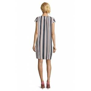Betty Barclay Ladies Betty Barclay Vertical Stripe Dress  - Pink - Size: 42