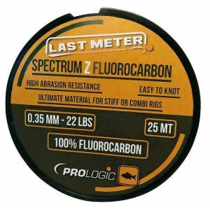 Prologic Spectrum Z Fluorocarbon 25 m 0.35 mm 22 lbs