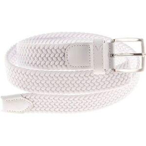 Alberto Gürtel Basic Braided White 100