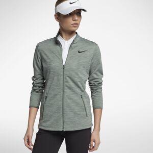 Nike Dry Womens Jacket Clay Green/Black L