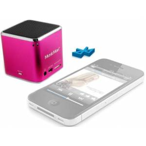 Technaxx Mini MusicMan Pink  - Pink